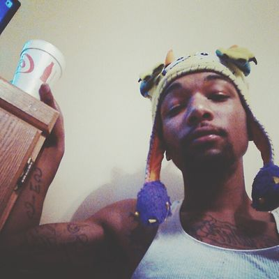 Faded Sippin Selfie