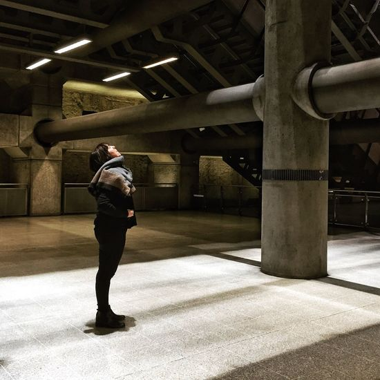 Learn & Shoot: Working To A Brief London Killtheunderground TransportForLondon Travel Photography Portrait The City Light