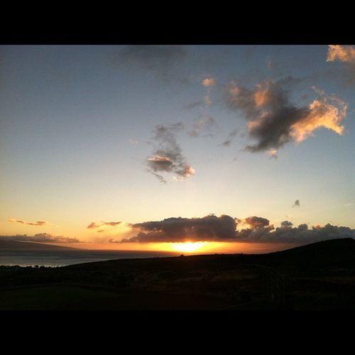 Mahalo. Maui Hawaii Sunset Instahi instagramhi hilife