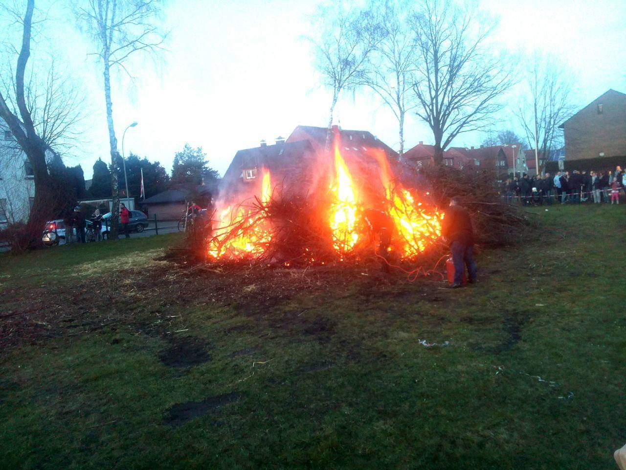 Easter fire in Gronau (Germany/NRW) Gronau North Rhine Westfalia Easter Easter Fire Easter Fire In Gronau 2016 Gronauwestfalen Gronau (Germany)