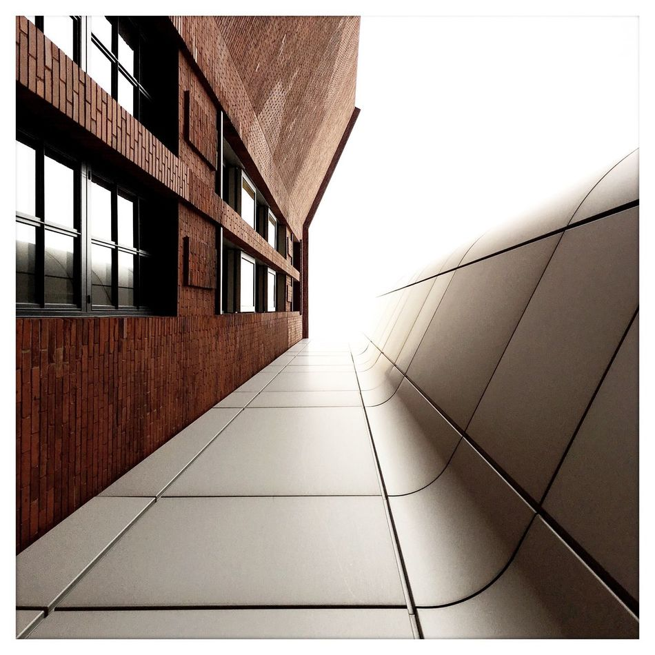 Simplicity Architectural Detail Texture Things That Are Silver Lines And Shapes Metal Facades Architectural Feature Brick Minimalobsession Minimalist Architecture