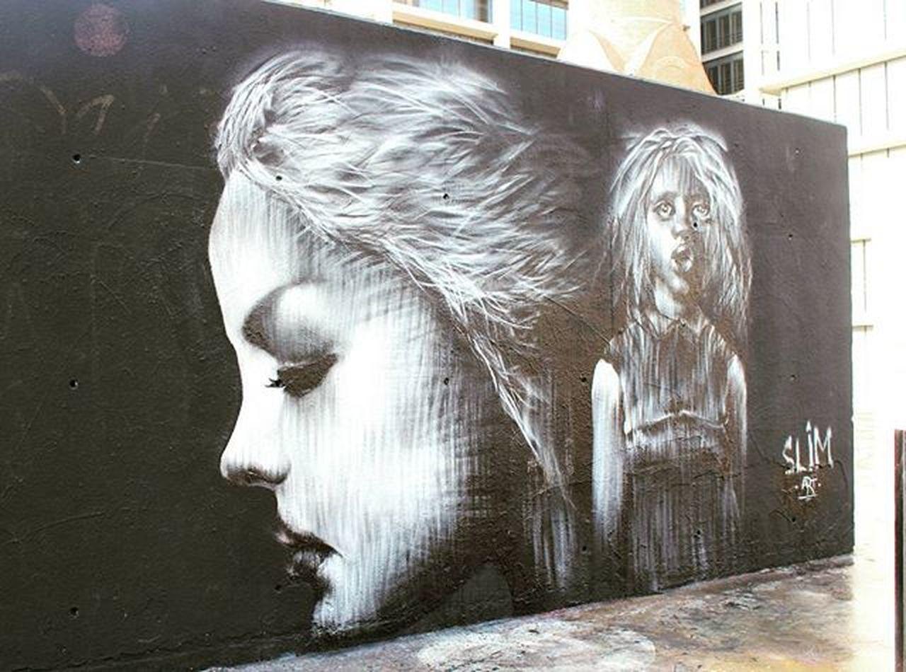 Amazing steet art Slim Streetfashion Streetart Parallel Catalunya Espańola Tequerobarcelona Hablaespañol