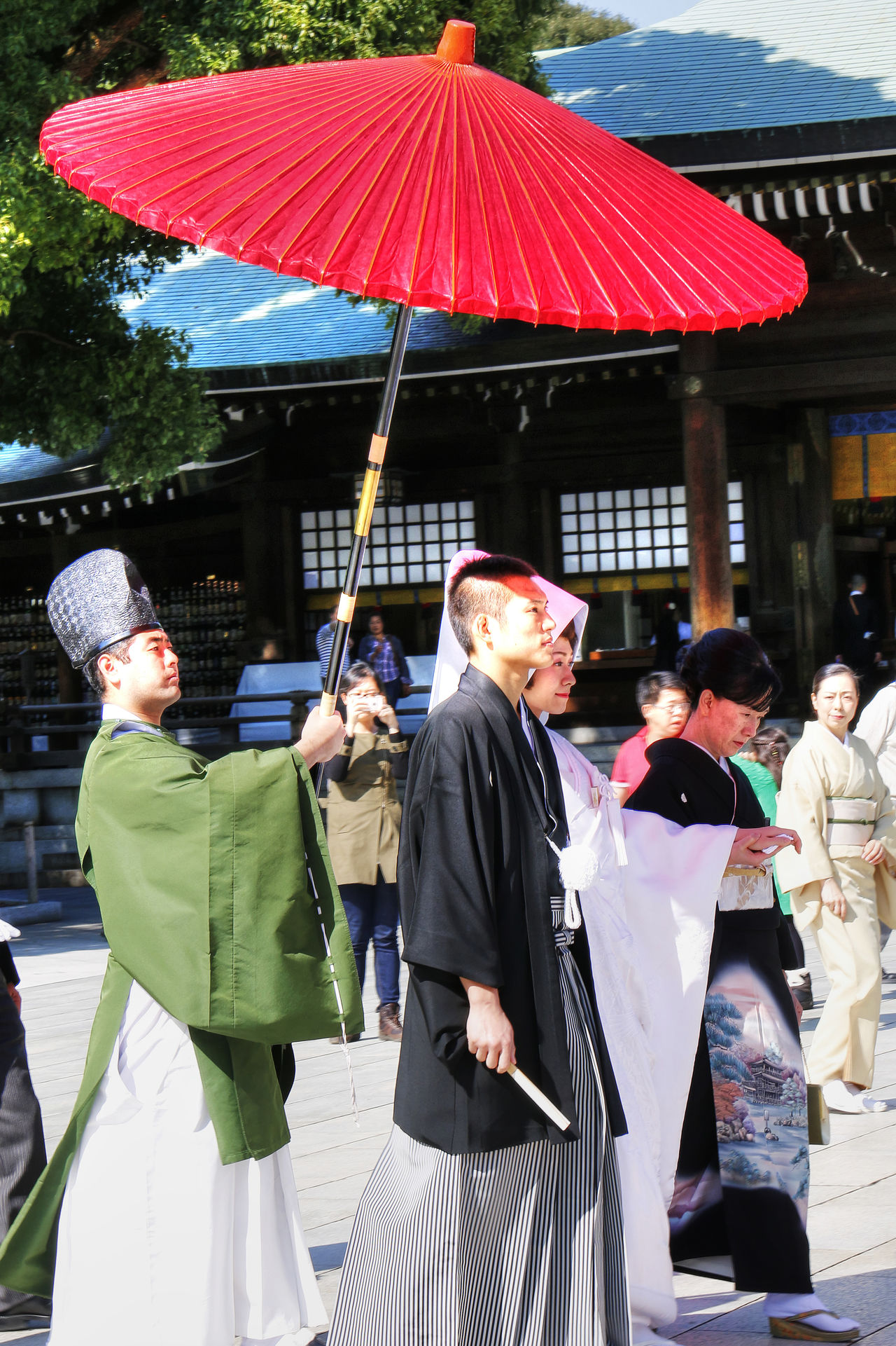 traditional japanese wedding Adult Cultures Day Japan Meiji Shrine Outdoors People Tokyo Traditional Costume Traditional Wedding Wedding Wedding Ceremony Wedding Procession