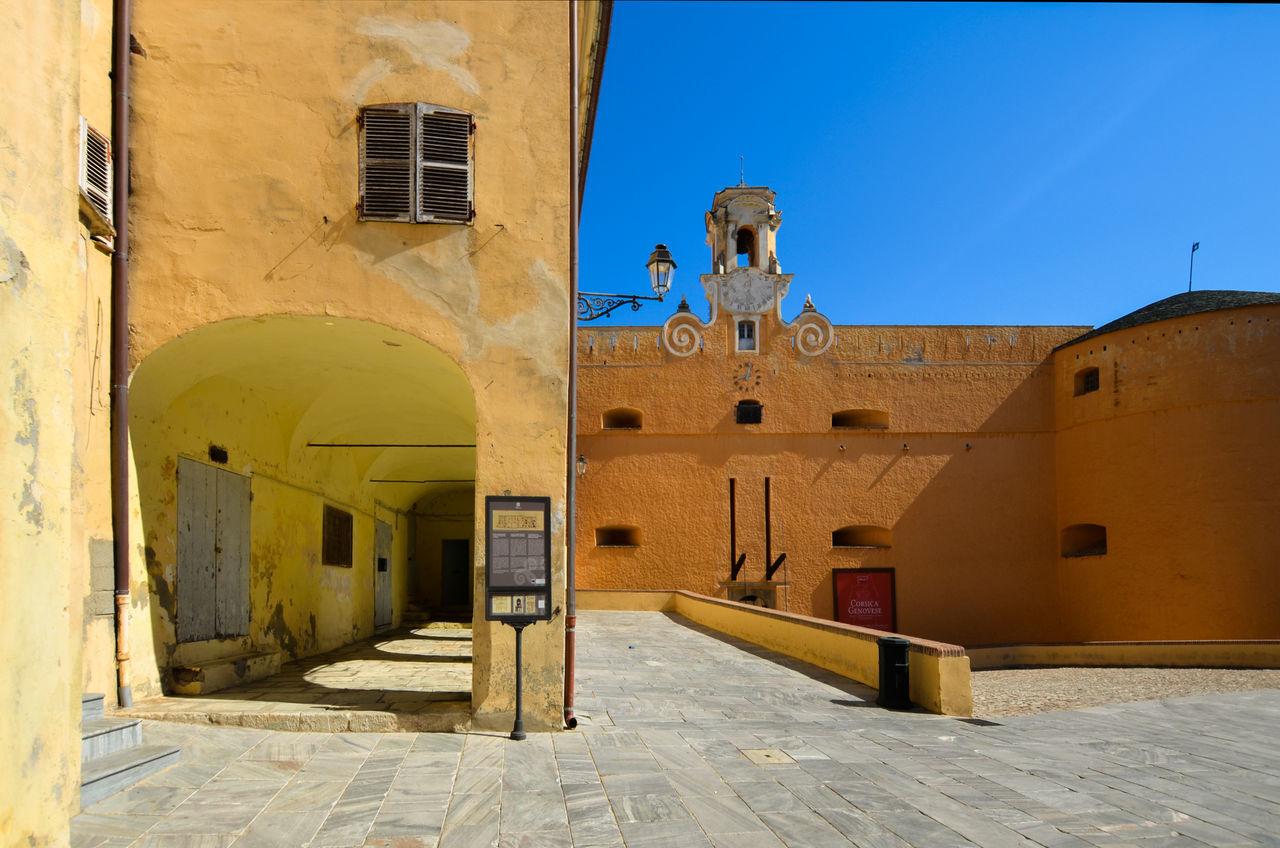 Architecture Bastia Building Exterior Built Structure Corse Corsica France No People Outdoors Sky Travel