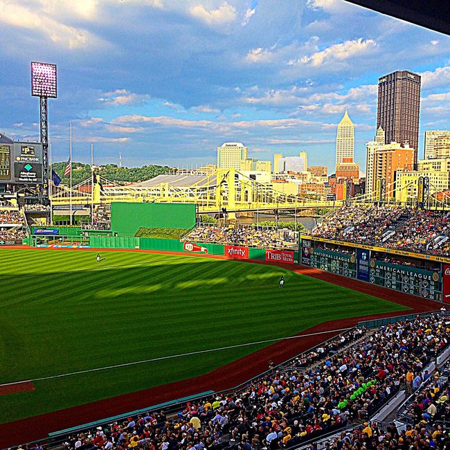 Cityscapes Baseball City Summer Color Photography Landscape Architecture Skyline Enjoying Life Pittsburghpirates
