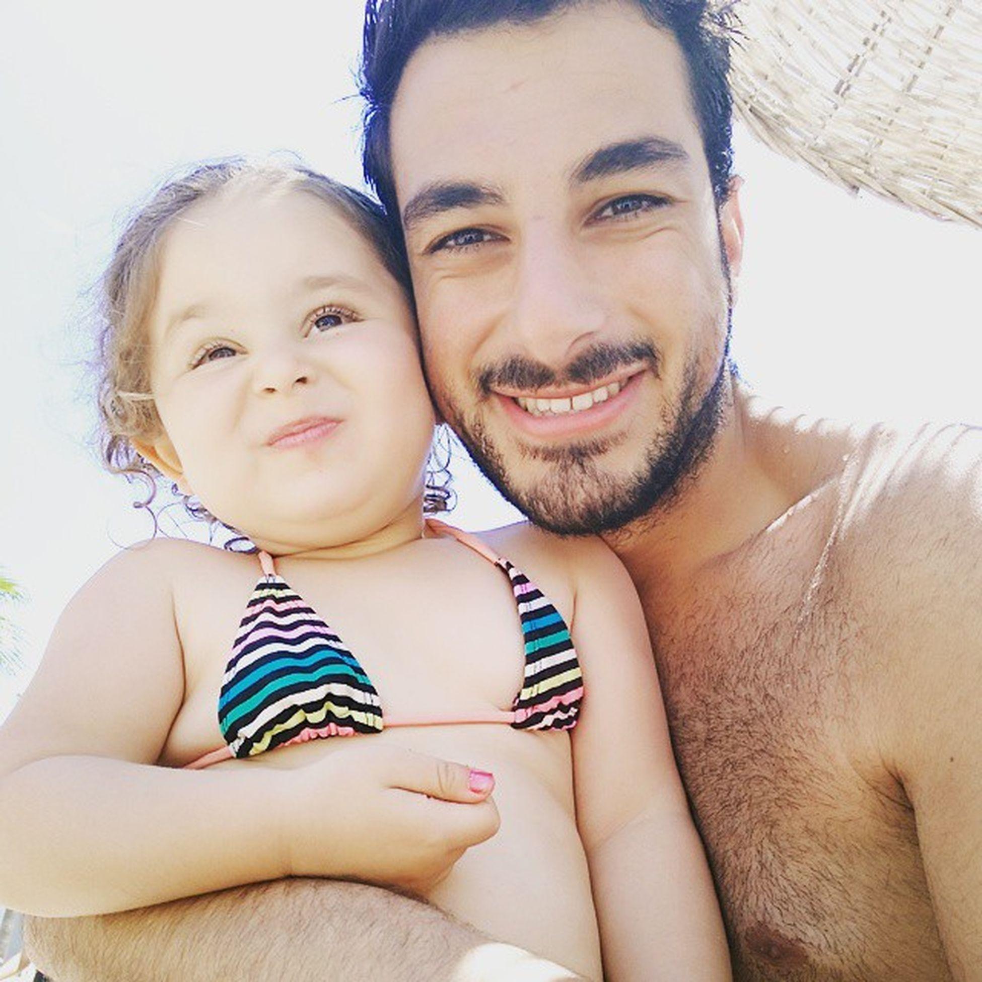 Tatlışımla deniz keyfiiiii 😇😇😇😅😅😄😄😄💞💞💞 Sea Tagsforlikes Instagood Love Marmaris Icmeler Baby