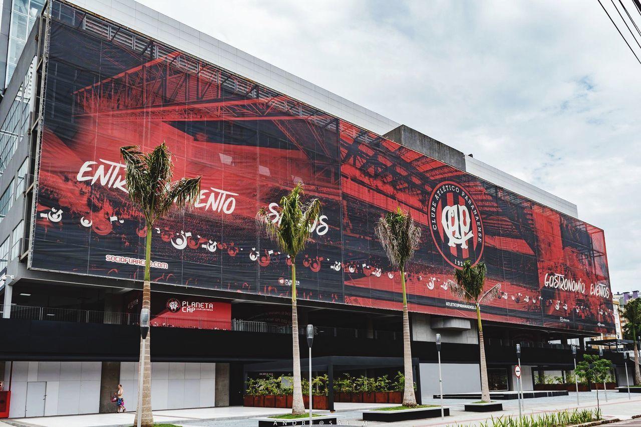 Stadium Atlético Paranaense Architecture Soccer Brasilianclub