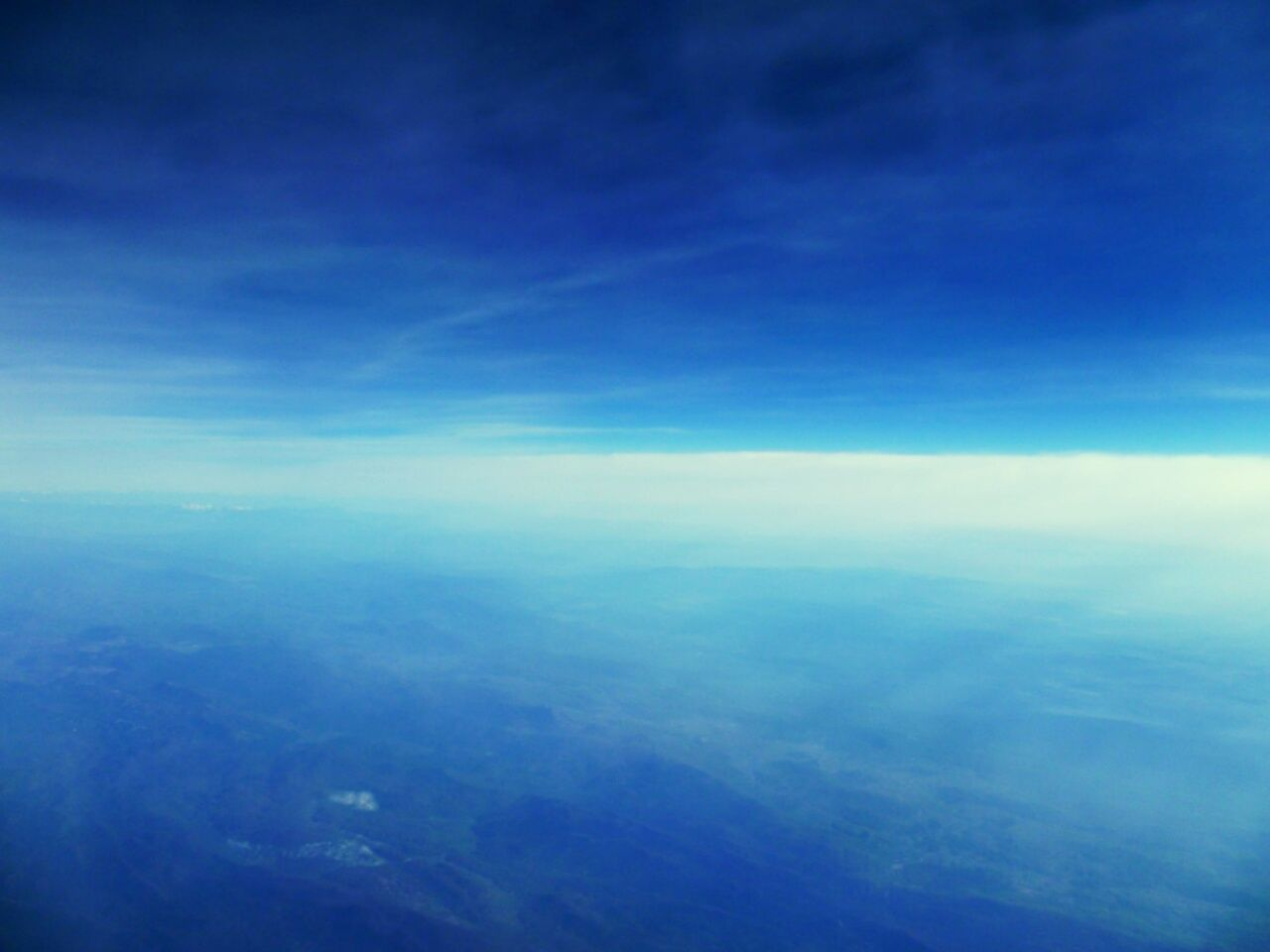 Sky Unique View Scenery View From Above Plane Airplane Space Relaxing Cloud - Sky Nature Horizon Planet Earth Day Landscape No People Beauty In Nature Blue Flying High