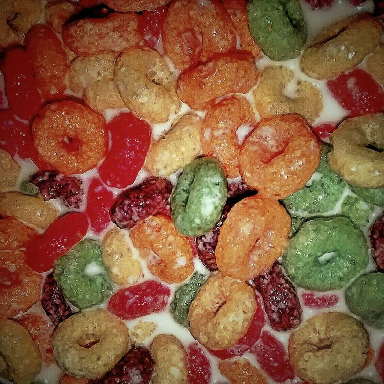 FrootyLoops Breakfast Cafedamanha Colors Colores Cores Mobgraphia Kim