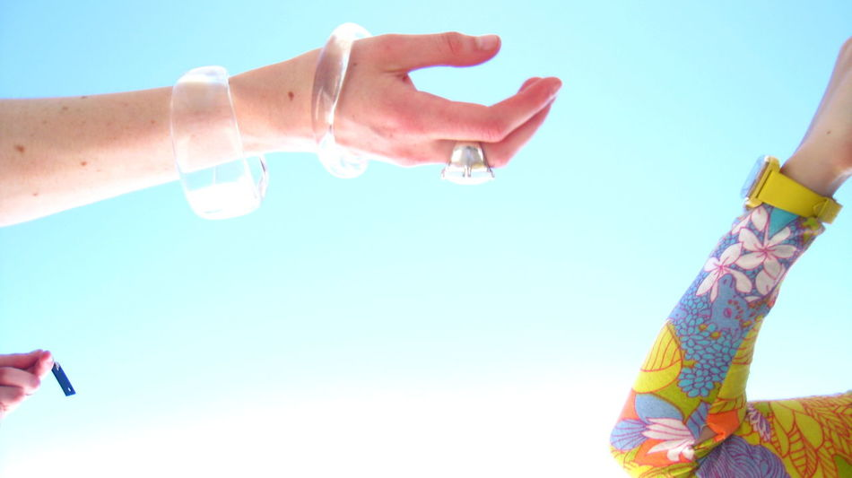 Beautiful stock photos of music, human hand, real people, blue, clear sky