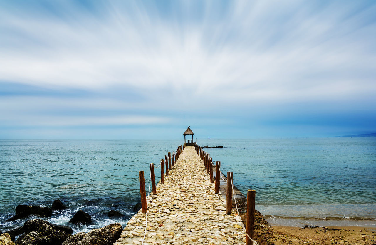 Pond on the coast of the Black sea, Balchik, Bulgaria Amazing Beach Beauty In Nature Beauty In Nature Blue Coastline Colorful Day Gorgeous Horizon Over Water Nature No People Outdoors Pier Pond Sea Sea And Sky Shore Sky The Way Forward Tourism Travel Vivid Water Waterfront
