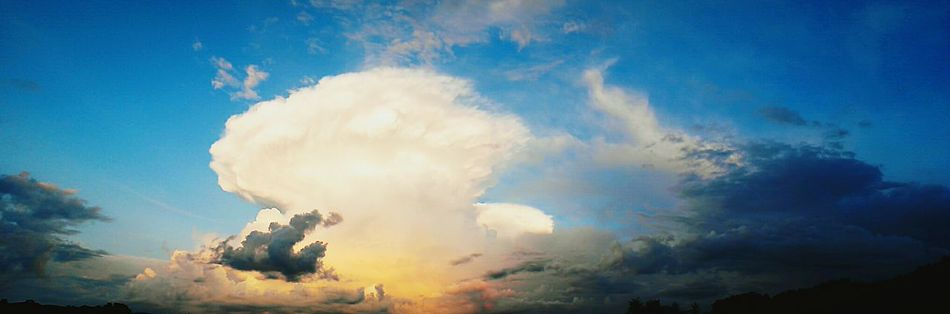 Sky And Clouds Heaven♥ Beautiful Afternoon Ready To Storm :) 😊💙