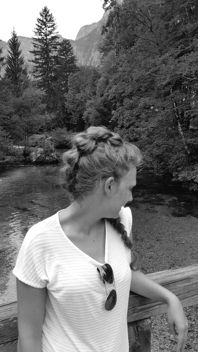 Bohinj, Slovenia Bohinj Bohinj, Slovenia Bohinjsko Jezero Braid Braids Braided Hair Braids Done By Me Hairstyle Hair Nature Headshot Tree Young Adult Leisure Activity Casual Clothing Person Outdoors Nature Tranquility Day Non-urban Scene River Bridge Beauty In Nature Woman