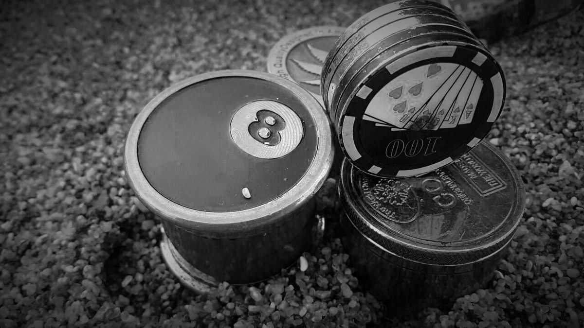 Improvised Nothing Special Metal Close-up No People Outdoors Grinder Set Black & White Black And White Collection