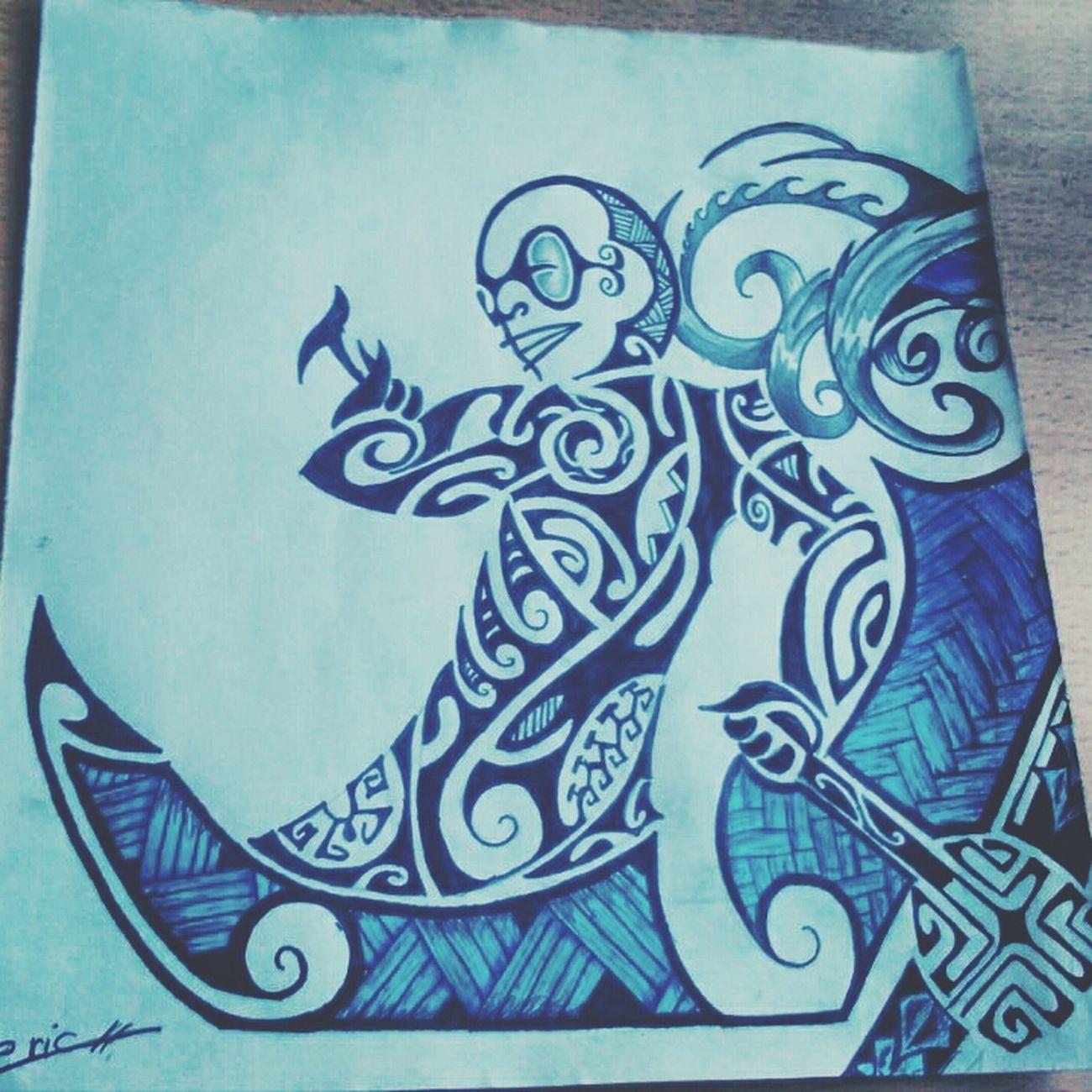 Maorie. Tattoo Maorie Ric