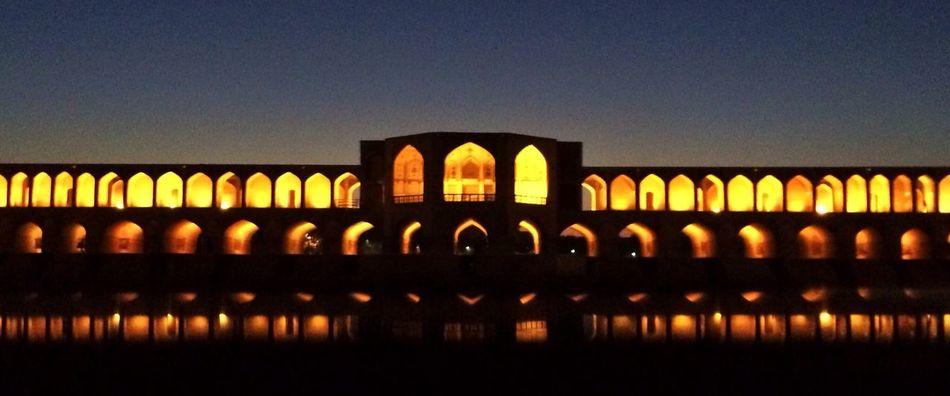 Dusk Bridge Iran
