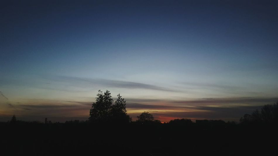 Sunset Beauty In Nature Outdoors Nature No People Beauty In Nature Nature Photographer Sky Blue Sky Cloudslovers Milky Way