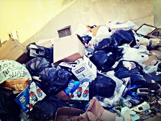 Trash at Turkish Republic Of The North Cyprus by pushy