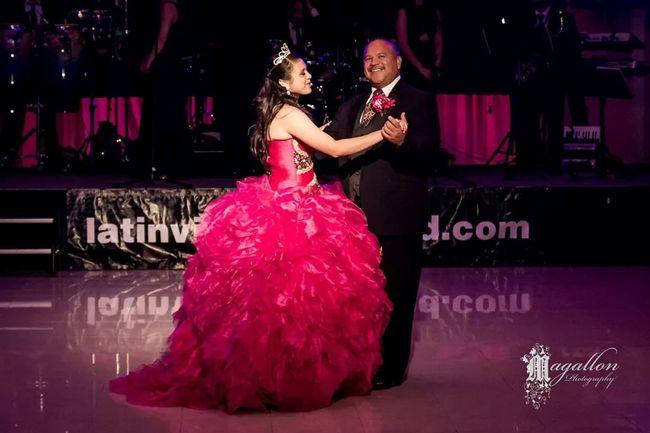 Authentic Moments Father Daughter Dance Quinceañera Celebration