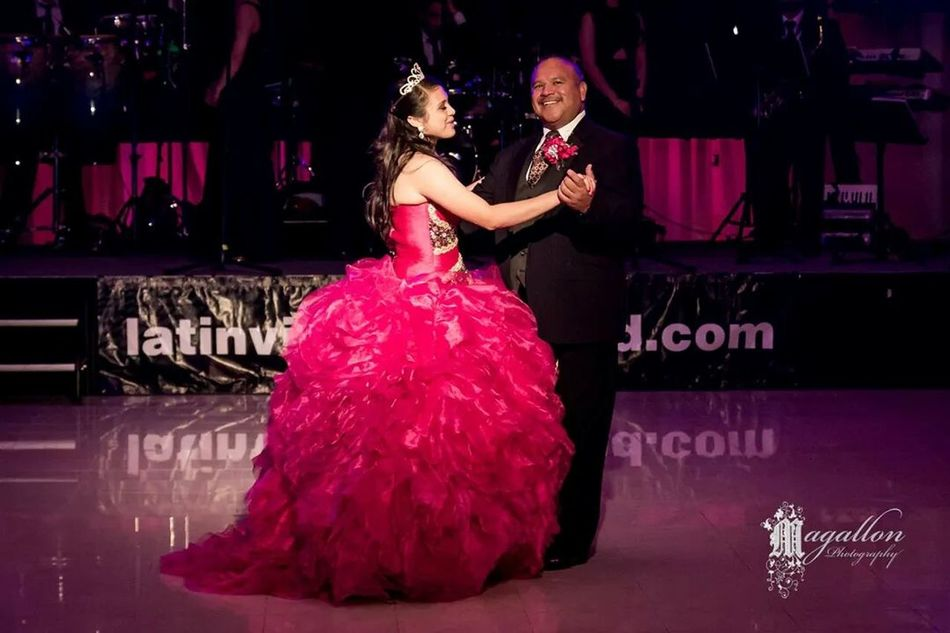 Authentic Moments Father Daughter Dance Quinceañera Celebration