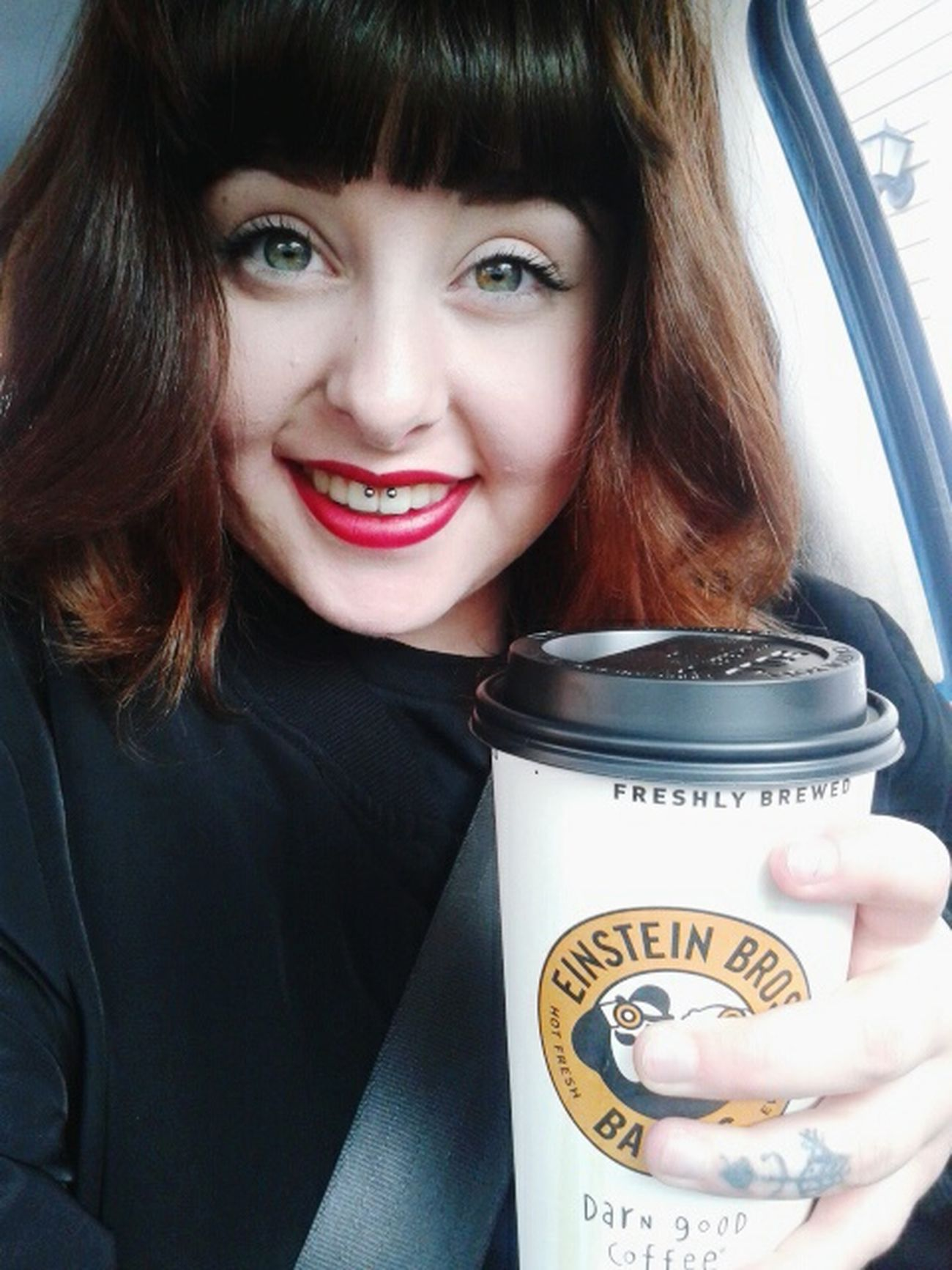 Shitty Day Smile Coffee Smiley Lipstick First Eyeem Photo