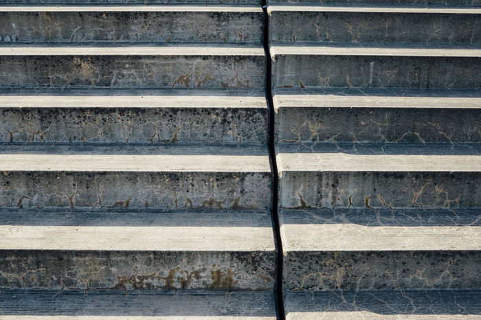 Concrete stairs in urban setting, Berlin Berlin Concrete Day Elevating Geometric Going Up High No People Outdoors Shadow Stairs Steap Step By Step Steps Texture Up Upwards Urban