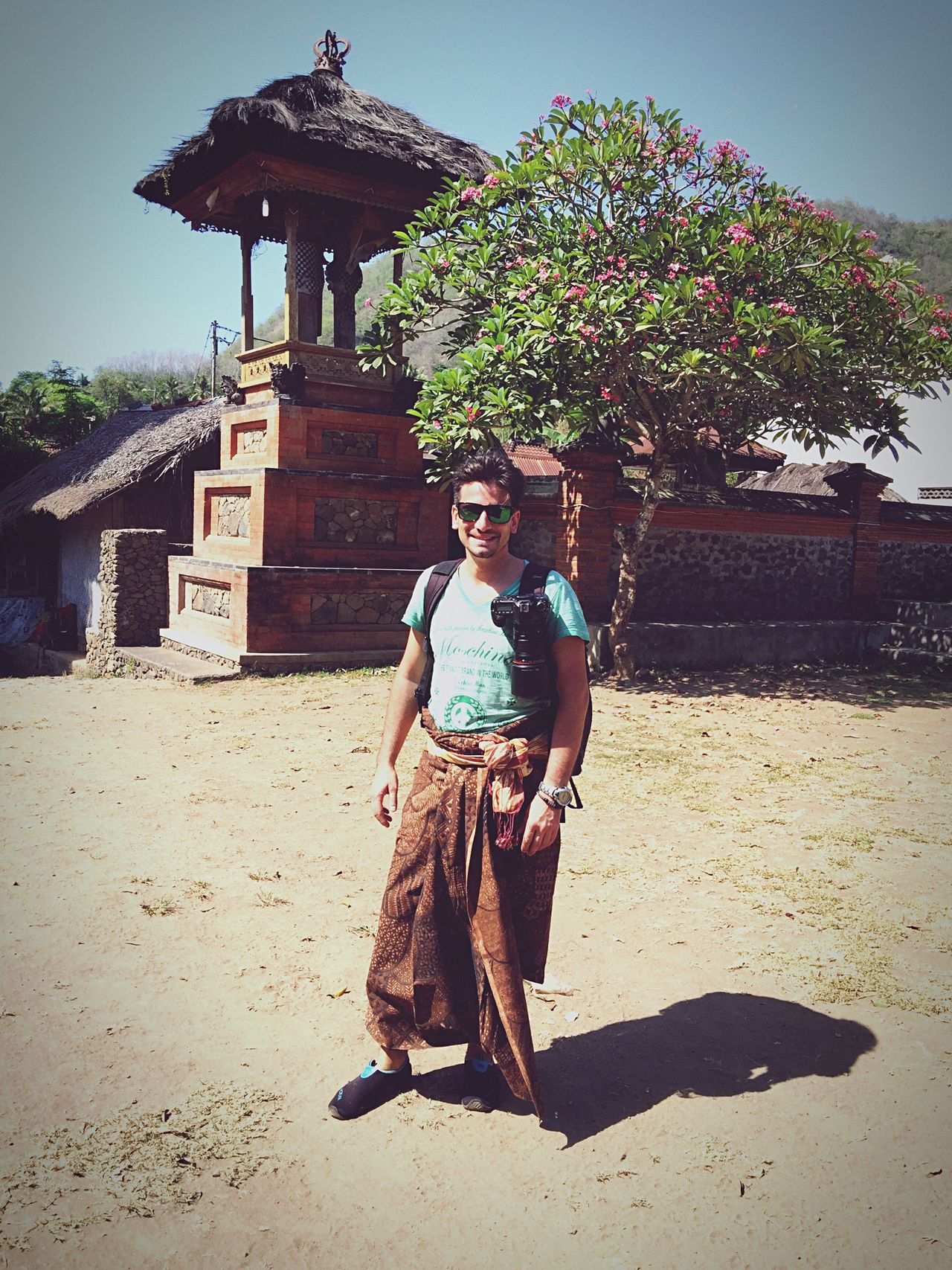 Ops, it is me - Bali style, before photographing ceremony with the Bali Aga people...a secluded village and society That's Me Cheese! Enjoying Life IPhone IPhoneography Traditions Iphone6plus Snapshot Balinese Life Relaxing Taking Photos Explore Travel INDONESIA Exotic Baliphotography Bali, Indonesia Candidasa Bali Bali Iphone6 Feel The Journey