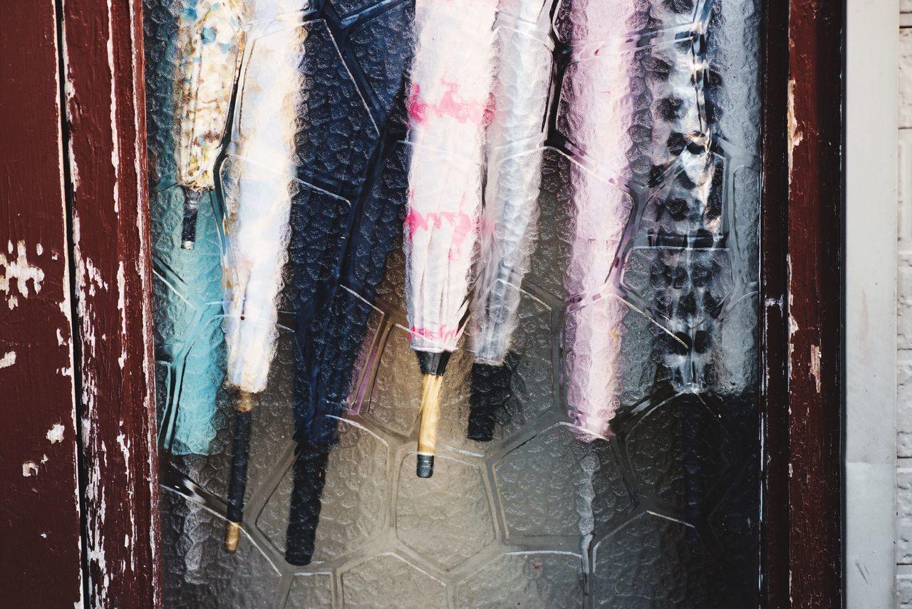 Beautiful stock photos of umbrella, Arrangement, Behind, Choice, Folded