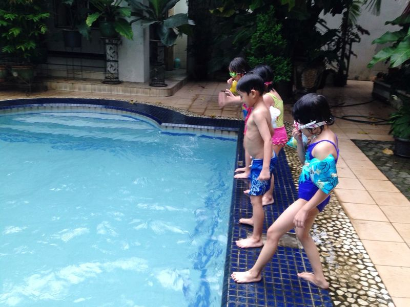 Ready to jump and swim! Impressive Mind By ITag Driaz And Friends By ITag Kids By ITag K2B Class By ITag Bukber K2B's Class By ITag