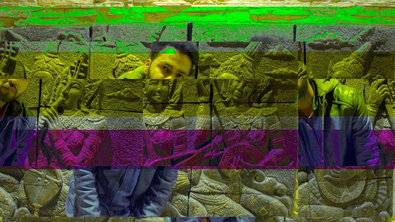 Glitch Art Glitchart Teampixel Model Vision DXB Bahrain Hot Mobilephotography Streetphotography Thai Thailandtravel Future Thailand a Thaifood Foodie Jacket Leather