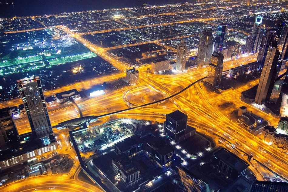 Aerial View]Illuminated]Night]City]Transportation]Airplane]City Life]Scyscrapers]Dubai]Desert]Futuristic]Building Exterior]Urban Skyline]BurjHalifa]Burjkalifa]Burjkhalifa]Space]Dubaicity]Coast]Sky]Cityscape]Scyscraper]Business Finance And Industry]City] Megapolis