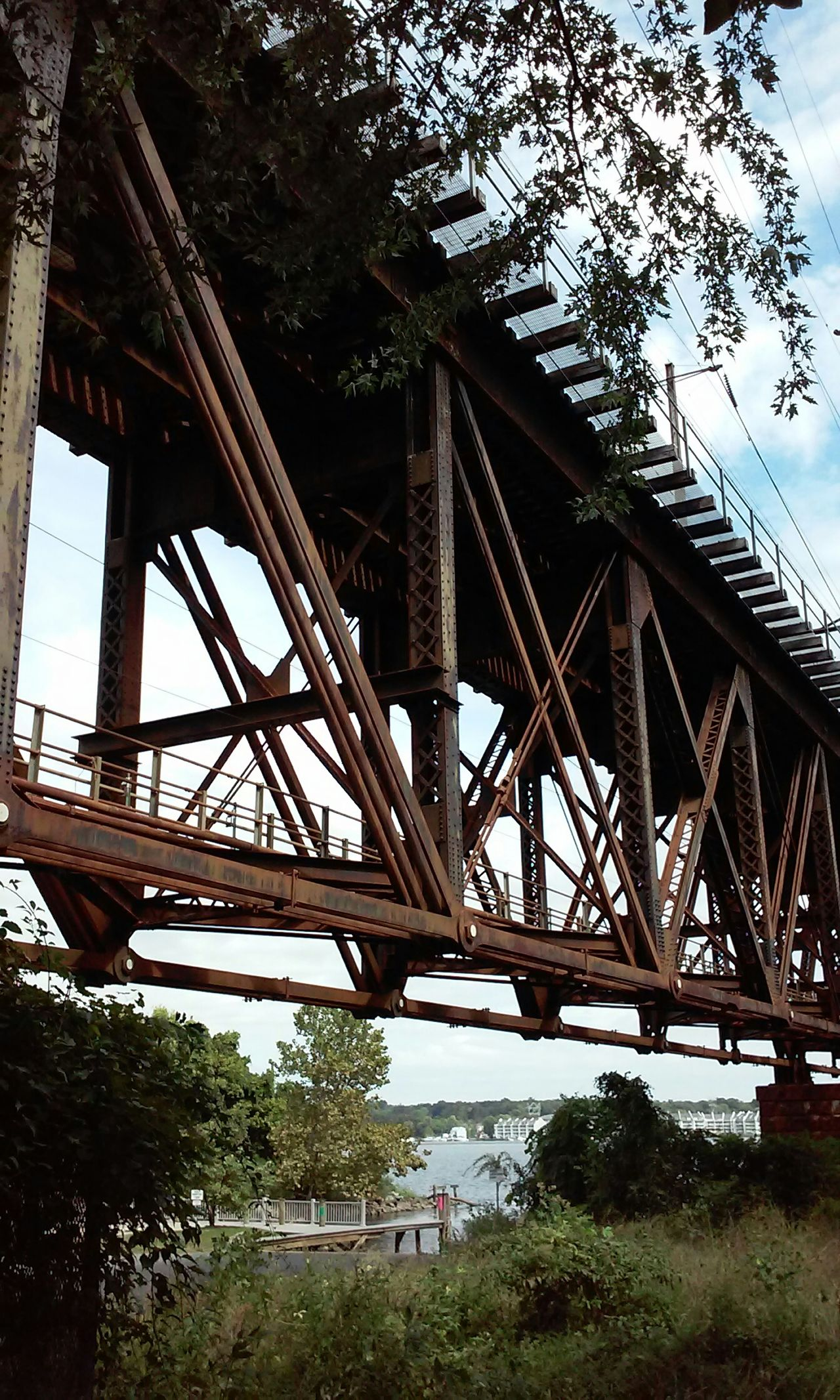 Old railroad bridge Capturing Freedom Portrait Of America
