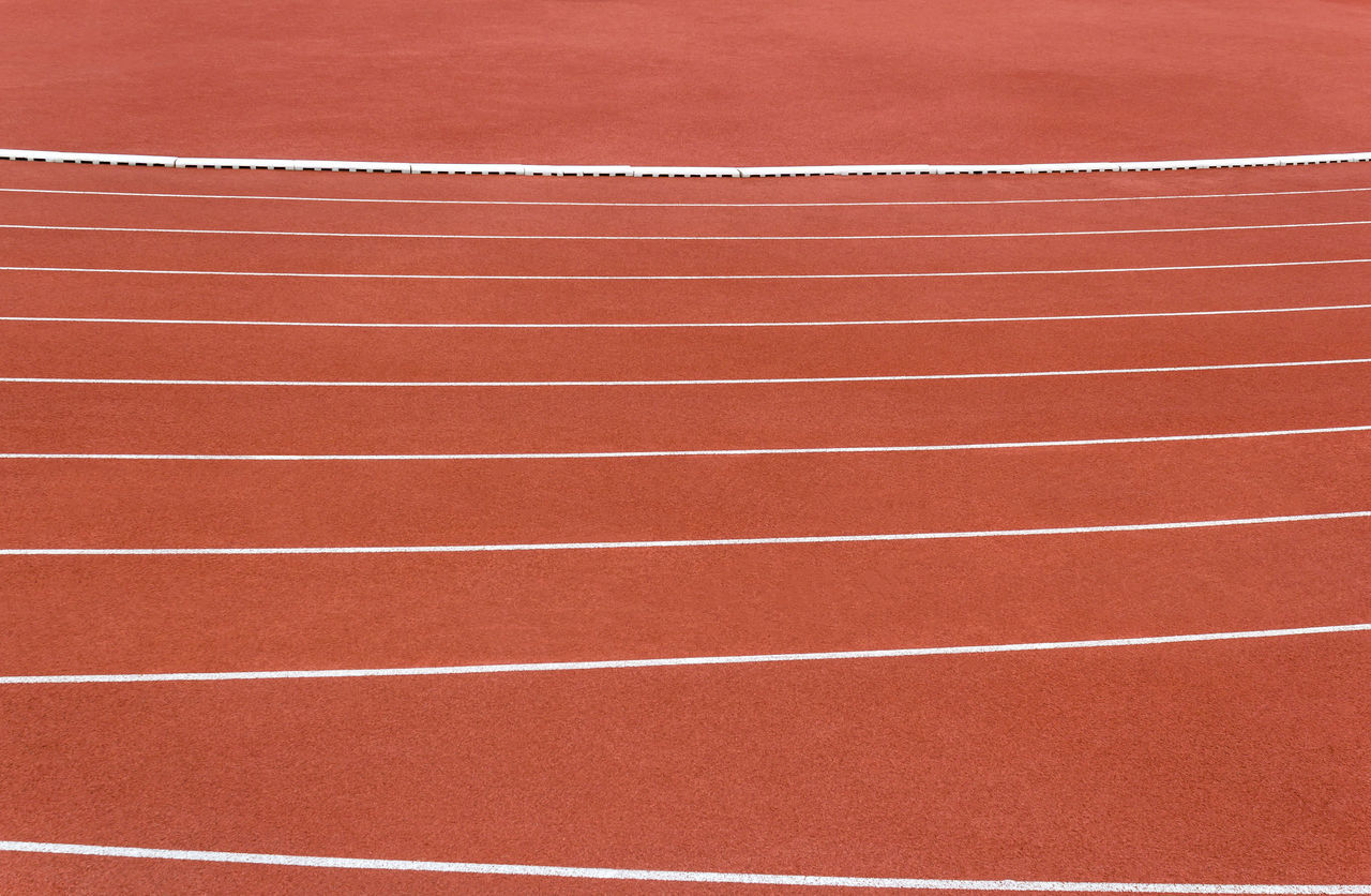 Line of running track Texture Athlete Background Competition Competitive Sport Course Design Exercise Fast Finish LINE Racecourse Run Running Track Speed Sports Race Sports Track Track And Field
