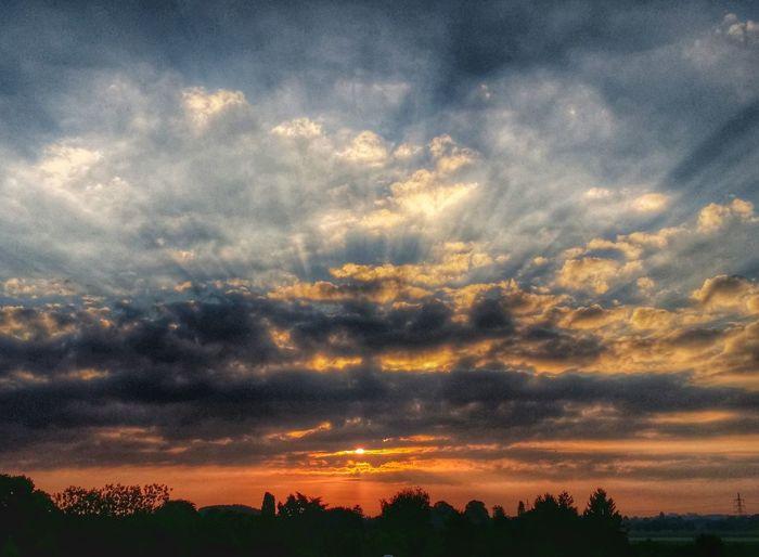 Sunrise HDR Landscape Lovely Weather