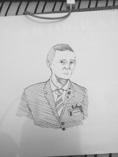 My boss .. Airport Drawing Drawings My Drawing