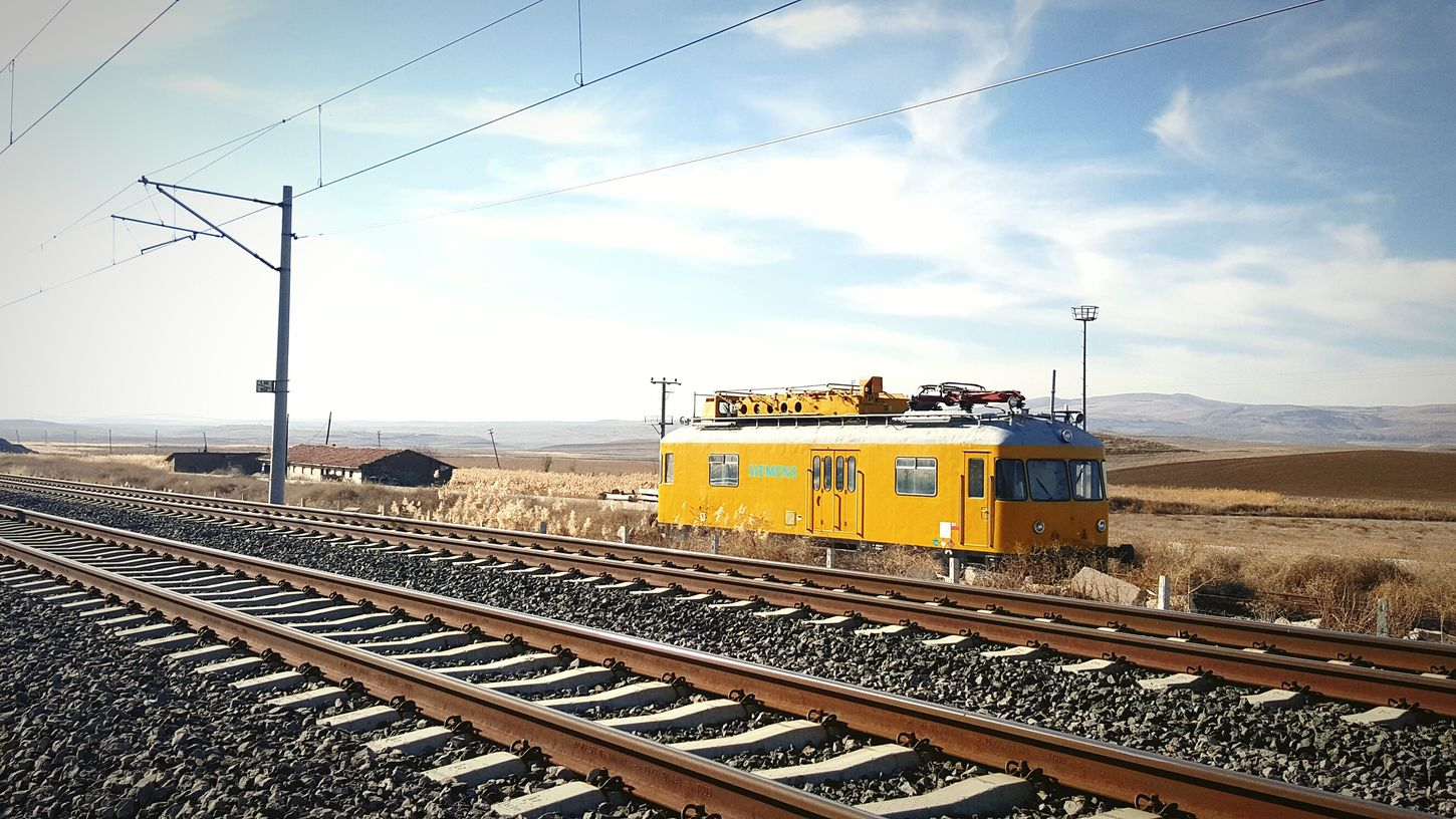 Lonely And Lovely Boy Siemens  Inspection Station Inspection Inspection Train Railway Rail
