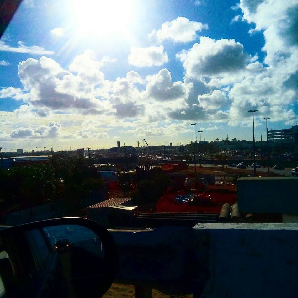 Travel Cloud - Sky Travel Destinations Sky City Illuminated Day Sunshine Salvador Bahia Brazil Brazil No People First Eyeem Photo