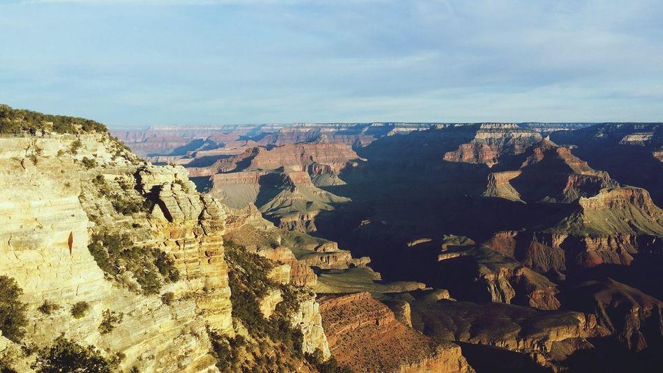 Grand Canyon Arizona South Rim Bright Angel Trail Dawn