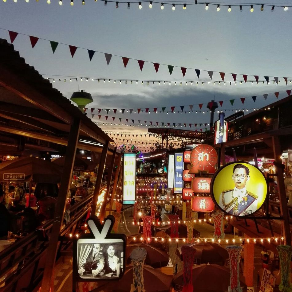 Huahin Thailand Market Night Fesitival King Of Thailand Old Architecture