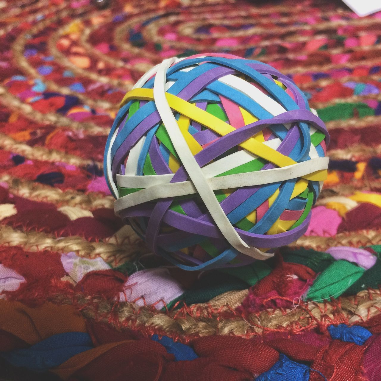 multi colored, art and craft, no people, table, indoors, close-up, ribbon, day