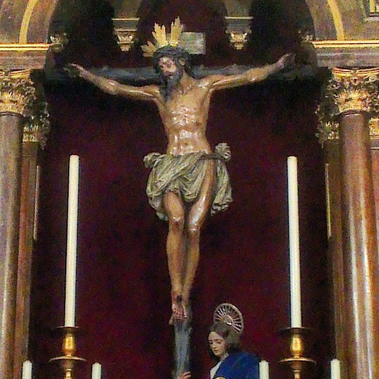 Stmo. Cristo de la Conversión del Buen Ladrón Montserrat Cuaresma2014 Sevillahoy