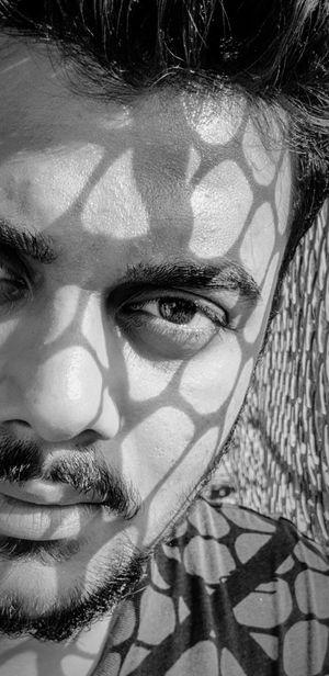 Eye Human Face Portrait Looking At Camera Close-up