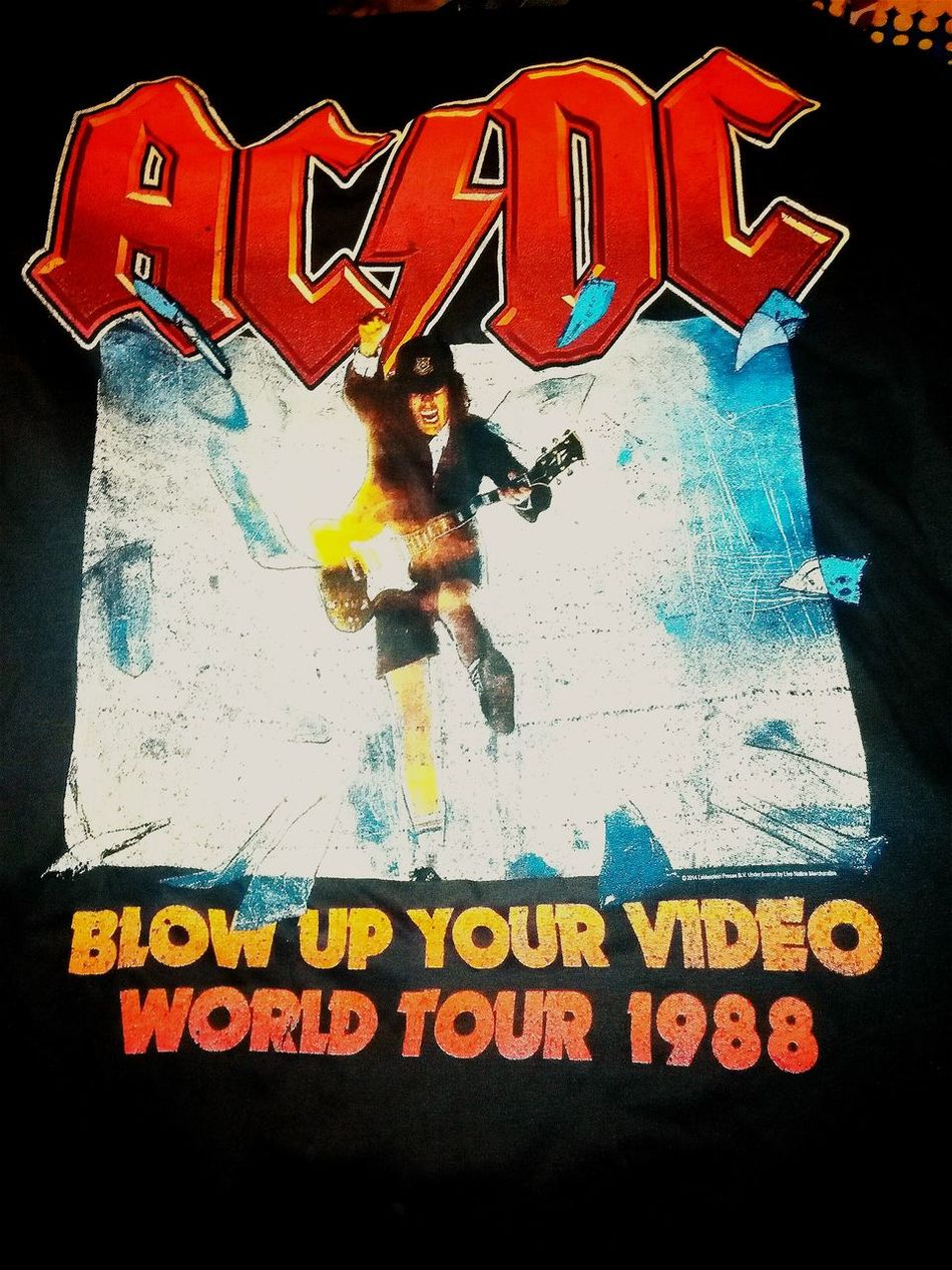 Acca/dacca T Shirt AC/DC Tshirt T Shirts Blow Up Your Video Rock'n'Roll For Those About To Rock, We Salute You AC~DC World Tour Ac Dc  ACDC Tshirt♡ Tshirts T Shirt Collection Tee Shirt For Those About To Rock...we Salute You!!!  Rock N Roll Rock And Roll Acdctshirt Tshirtporn T Shirt Bandshirt T Shirt Tshirtcollection