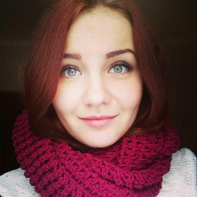 Hi! That's Me Beautiful Girl Kryvyy Rih Cute♡ WOW Winter рыжая яркая