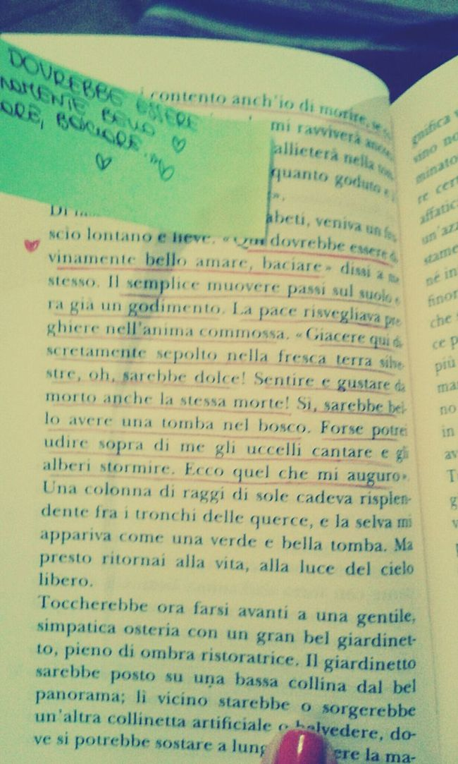 《Qui dovrebbe essere divinamente bello amare, baciare》 Goodnight Robert Walser Reading A Book What Are You Reading? Taking Photos Relaxing Photography Poetic Beauty