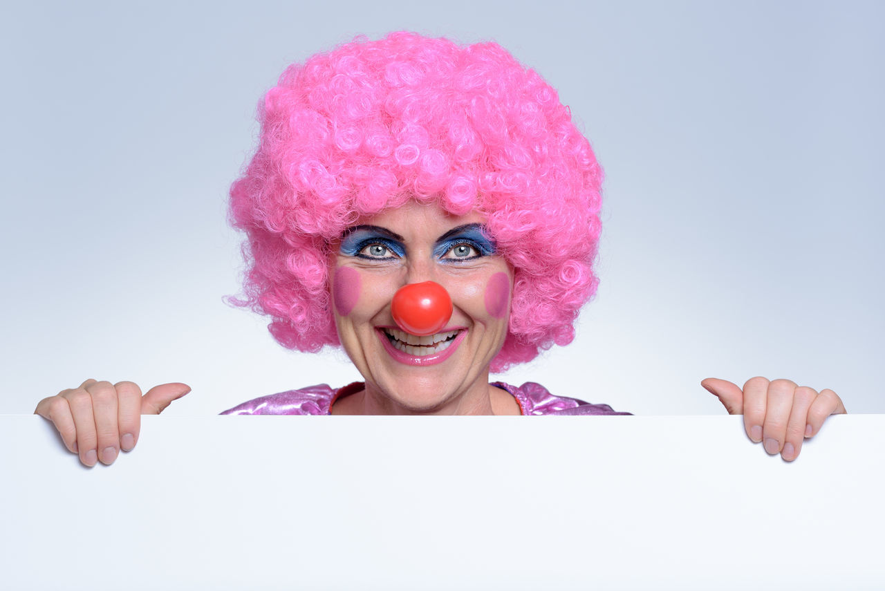 Beautiful stock photos of clown,  50-54 Years,  Characters,  Cheerful,  Clown