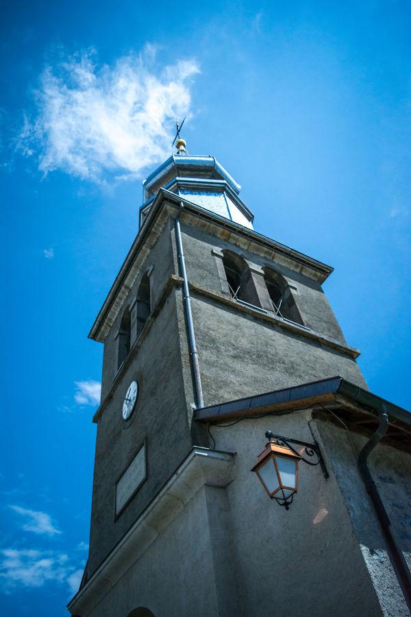 Eglise Lac Leman Lake France MedievalTown Outdoors Patrimoine Patrimoine De France Paysage Religion Sky Yvoire, France