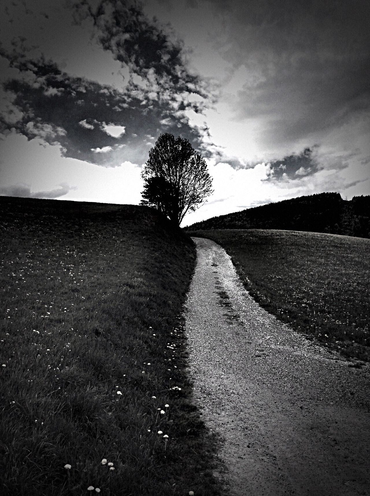 Road The Way Forward Cloud - Sky No People Nature The Great Outdoors - 2017 EyeEm Awards Beauty In Nature Noir Et Blanc Mountain Blackandwhite Photography AMPt_community Shootermag Shootermag_france BYOPaper!