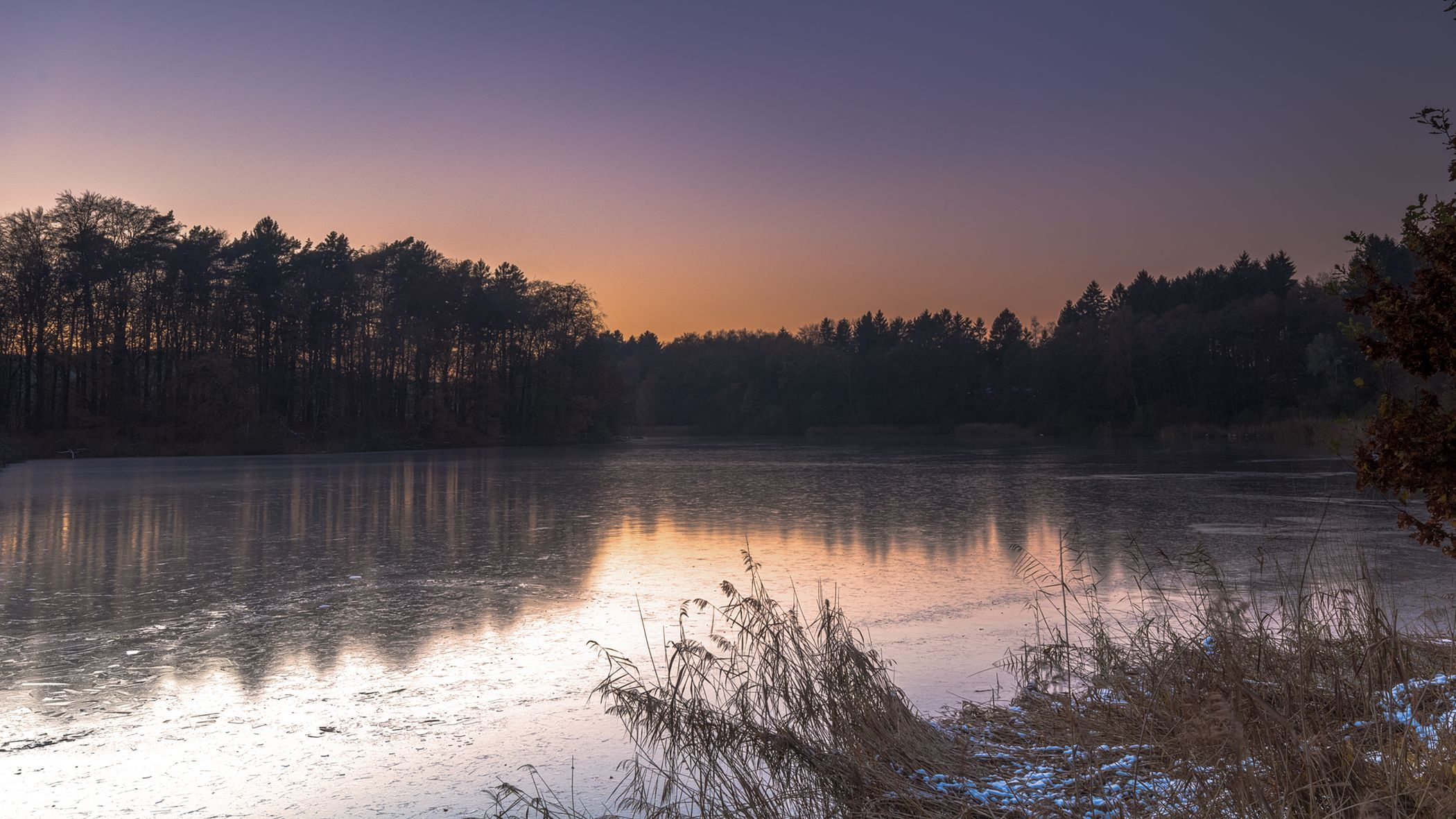 Sunset at the Mönchteich in Trittau SH Germany Sunset Landscape Tree Water Silhouette Lake Nature No People Sky Outdoors Germany Sea Winter Natural Parkland Pentax Sigma Trittau Schleswig-Holstein Sonnenuntergang HDR Backgrounds Arrival First Eyeem Photo