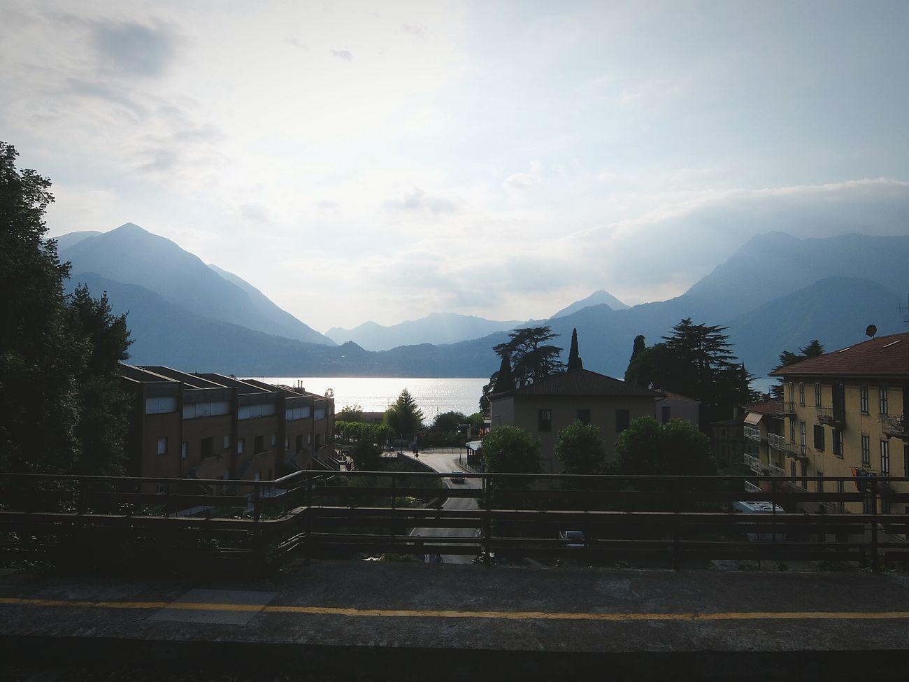 Bellagio Lago Di Como Lake Como Mountains Mountain Lake On The Train Train Station Fujifilm